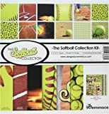 "Reminisce TSOFC-200 Softball Collection Kit, 12"" by 12"", Multicolor"