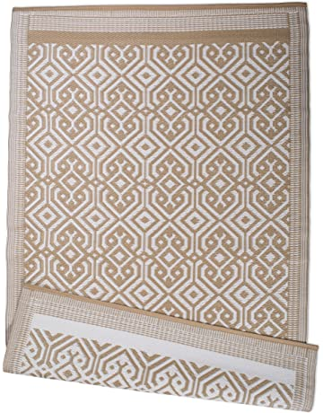 Charmant DII Contemporary Indoor/Outdoor Lightweight Reversible Fade Resistant Area  Rug, Great For Patio,