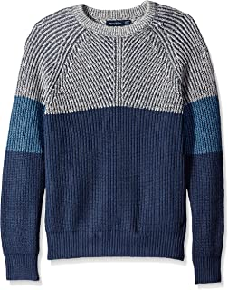 Comaba Mens Textured Slim Fit Turtleneck Long Sleeve Sweater Tops