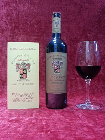 "6 botellas Negro D Avola Premium de Purezza ""girafas Oro bi-barricato"