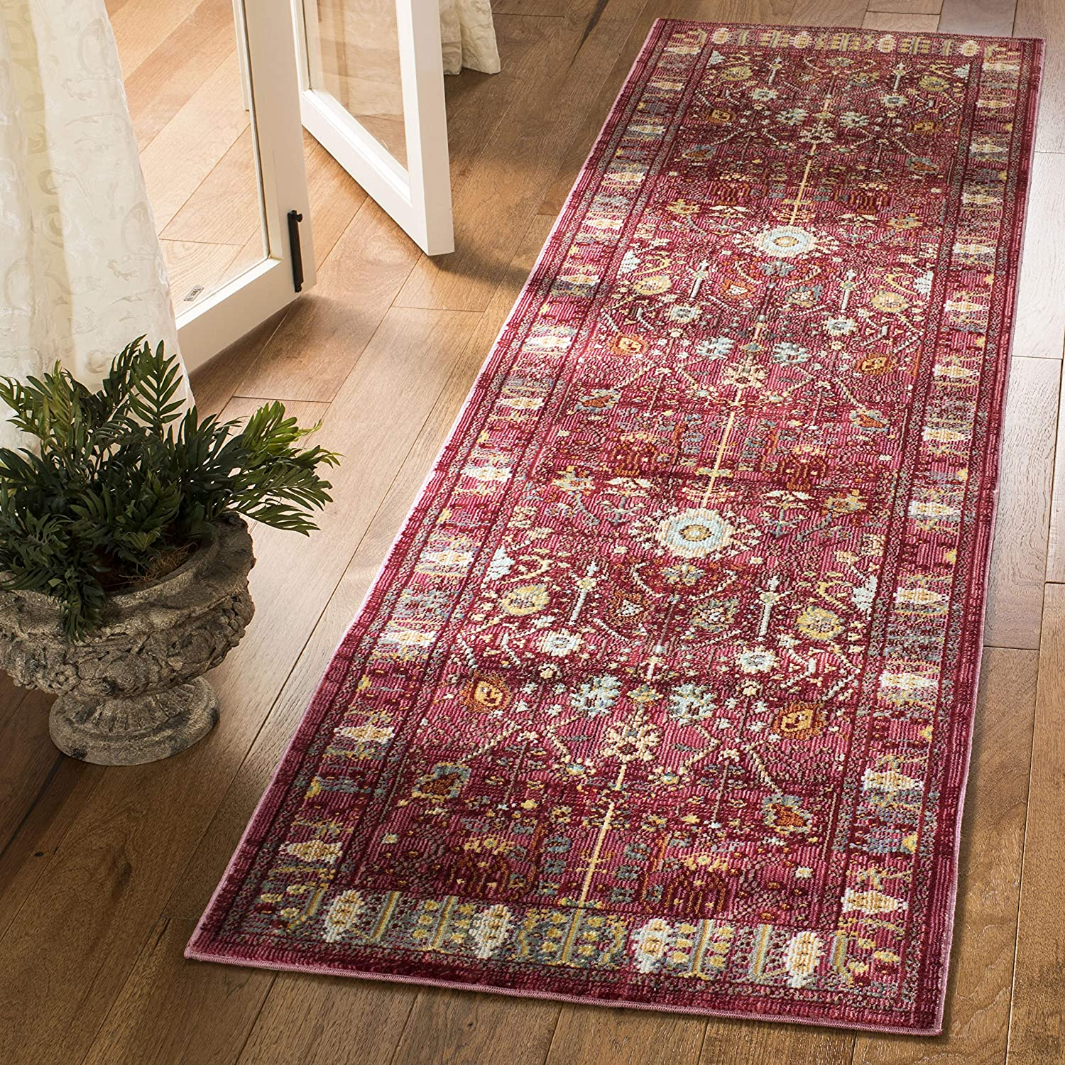 Safavieh Valencia Cheap SALE Start Collection VAL108P Runner New color Boho Chic Distressed