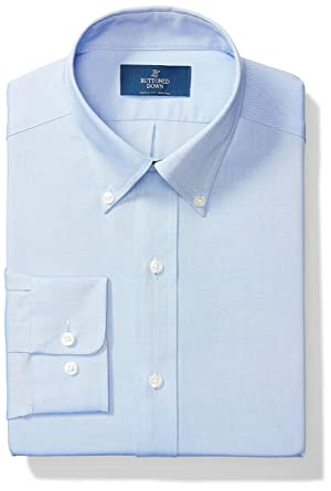 31b228145ce BUTTONED DOWN Men s Classic Fit Button-Collar Solid Non-Iron Dress Shirt (No