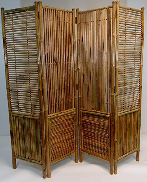 Master Garden Products Bamboo Self Standing Divider And Screen, 72 X  72u0026quot;, ...