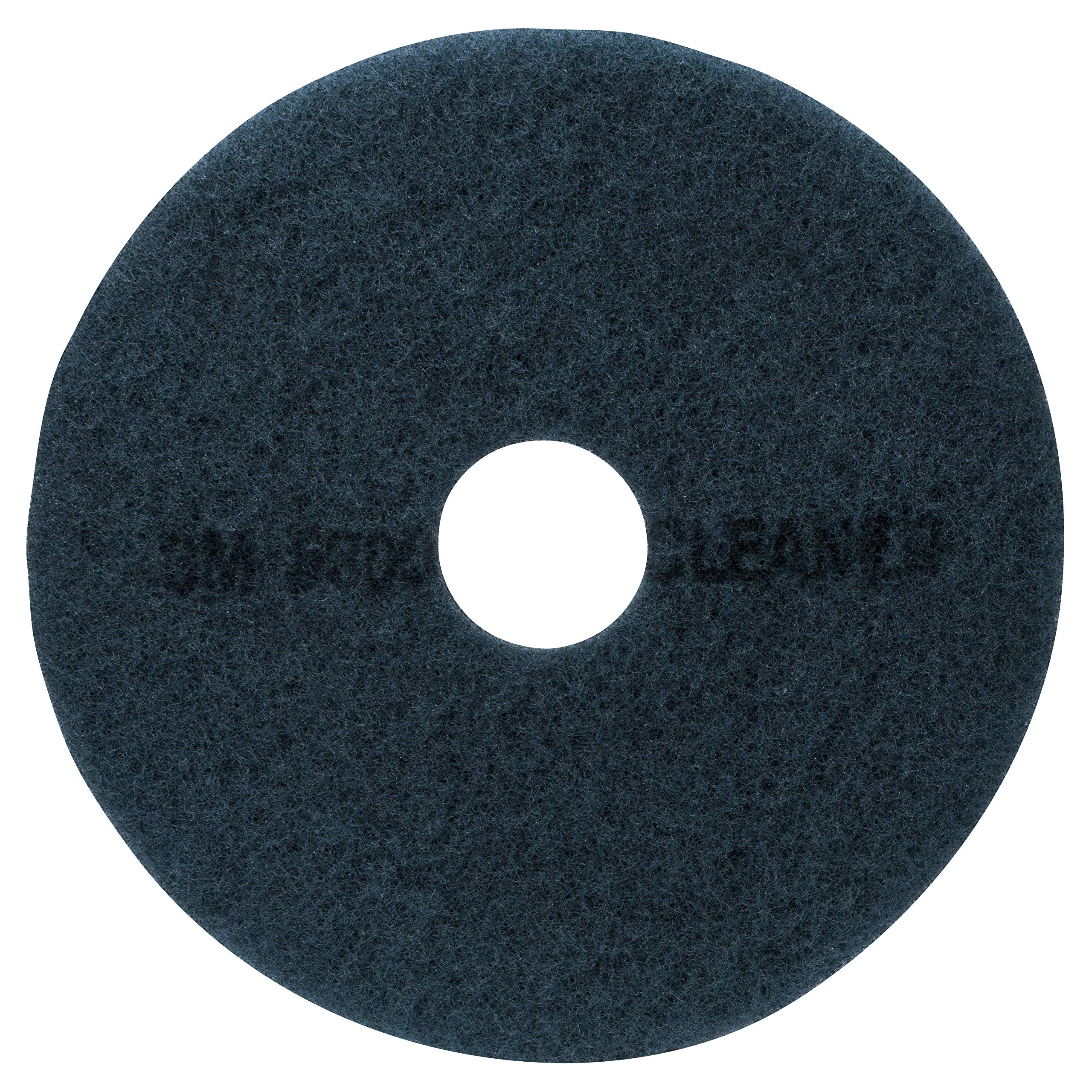 3M Blue Cleaner Pad 5300, 13'' Floor Care Pad (Case of 5)