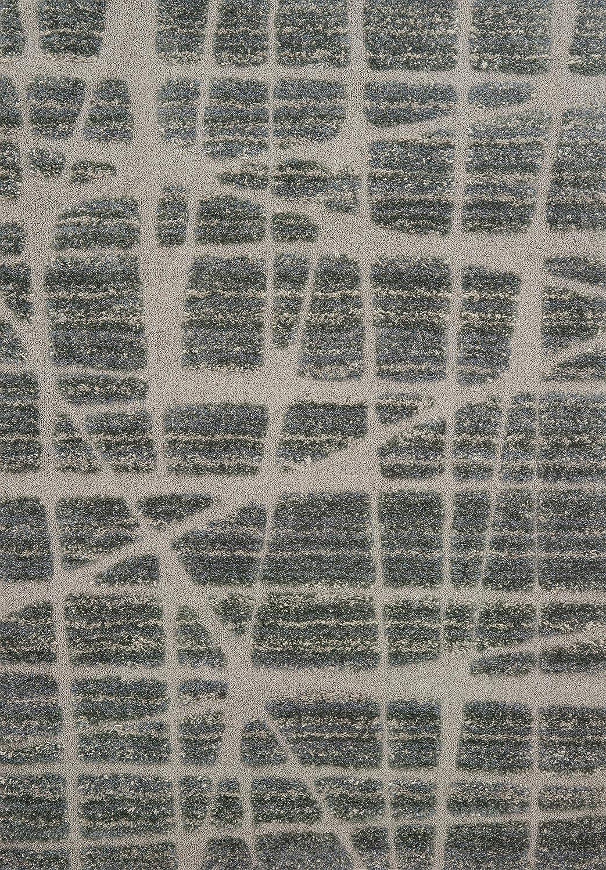 Loloi ENCOEN-29WHBL2339 ENCOEN-29WHBL Indoor Area Rugs 2-3 x 3-9 White//Black