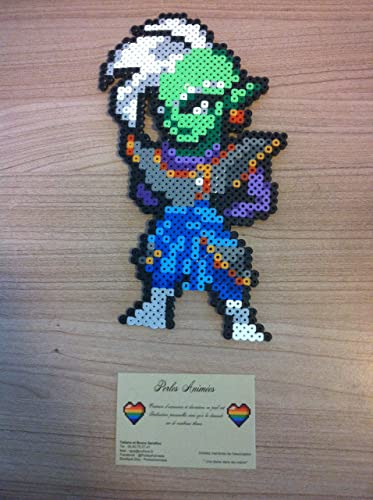 Pixel Art Dragon Ball Super Zamasu Amazonfr Handmade