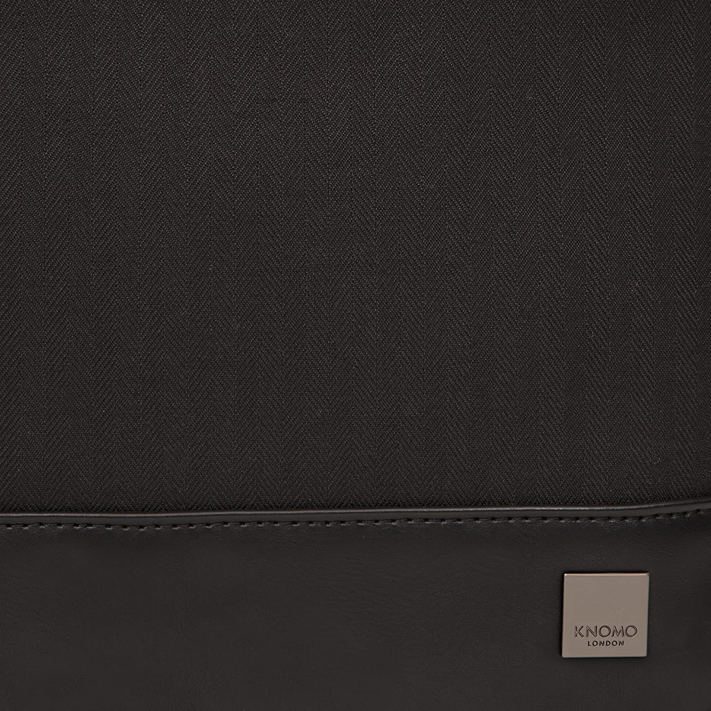 9f0d814a97a3 Knomo Luggage Mens Princeton 15.6 Laptop Briefcase Black One Size 43 ...