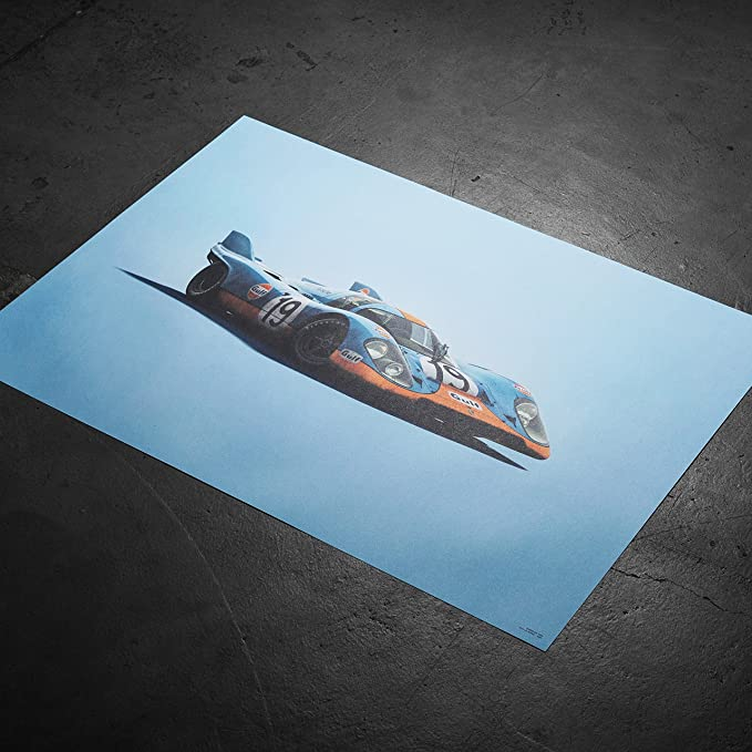Amazon.com: Automobilist Porsche 917 Gulf - Unique Design ...