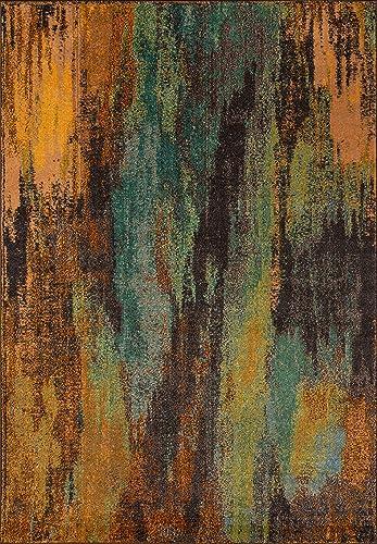 Momeni Rugs Casa Collection, Soft Blend Contemporary Area Rug, 2 x 3 , Multicolor