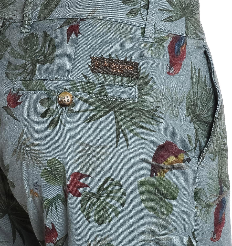 Jeckerson Luxury Fashion Mens Pants Summer Green