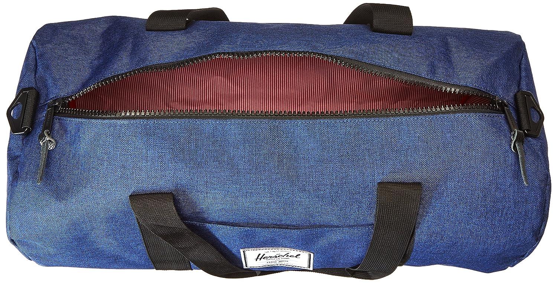Eclipse Crosshatch//Black noir Herschel Supply Co - 10251-01335-OS Sutton moyenne Sac de sport