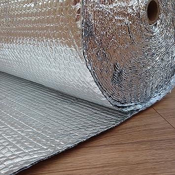 U-Foil 1,2 x 25 m, 30 SQM, Aislante 1 BD//A Aluminio Aislante con Burbujas