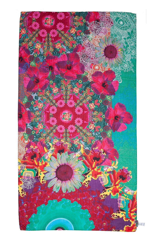 desigual floreada foulard imprime femme 74c7639c5d9