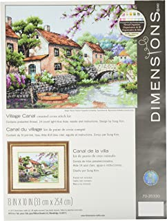 The Old Rectory 3D Cross Stitch Kit