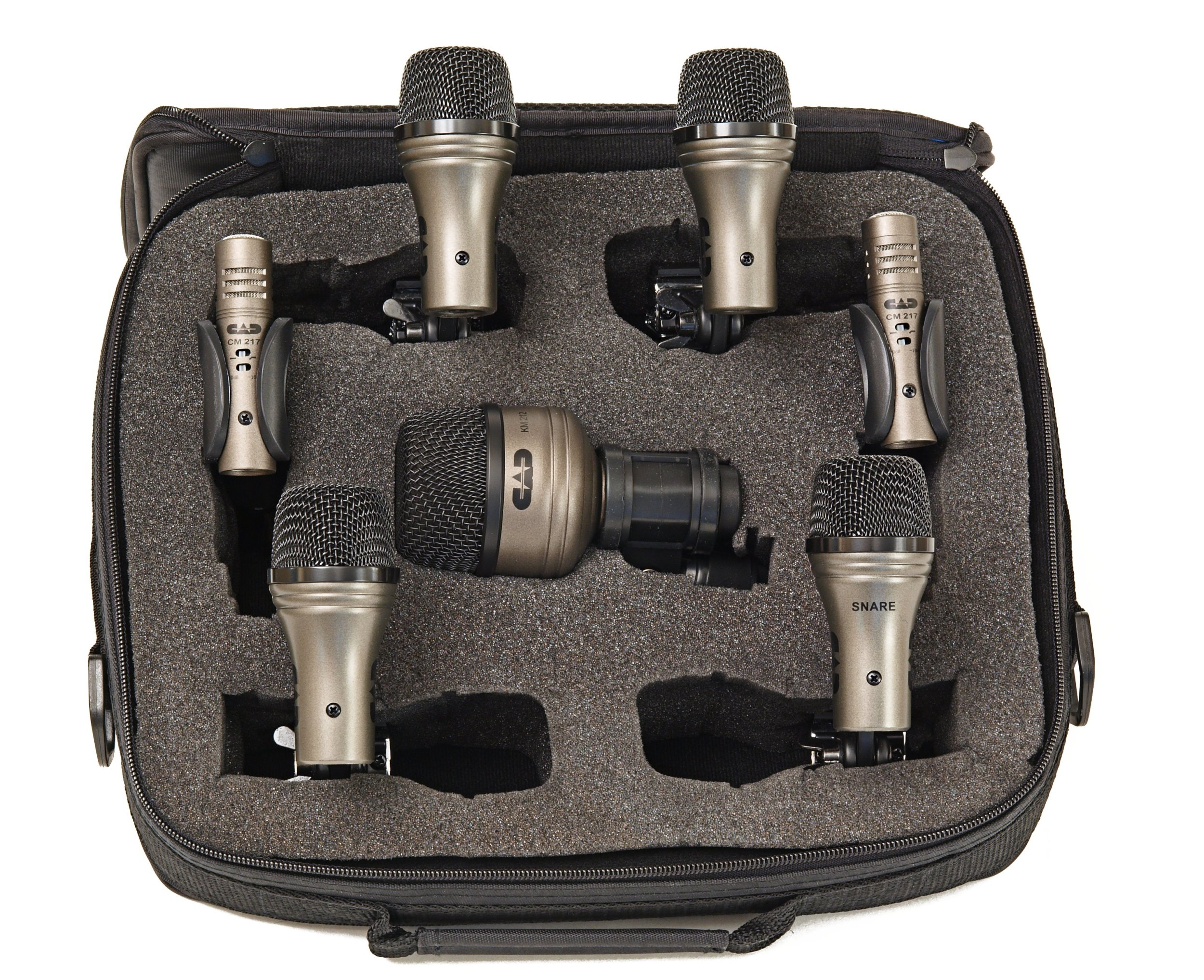 CAD Pro-7 7-Piece Drum Microphone Pack by CAD