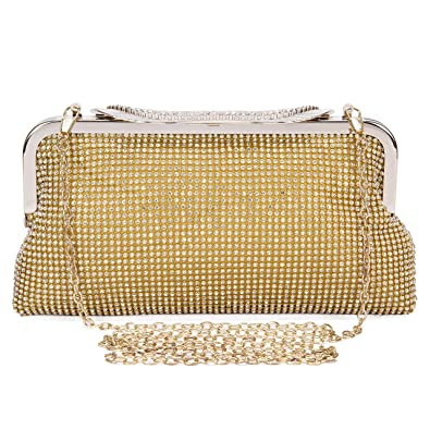 Evening Bags and Clutches for Women Vintage Style Crystal Rhinestone Handbag  Wedding Party Clutch Purse  Handbags  Amazon.com 25c853c733d1b