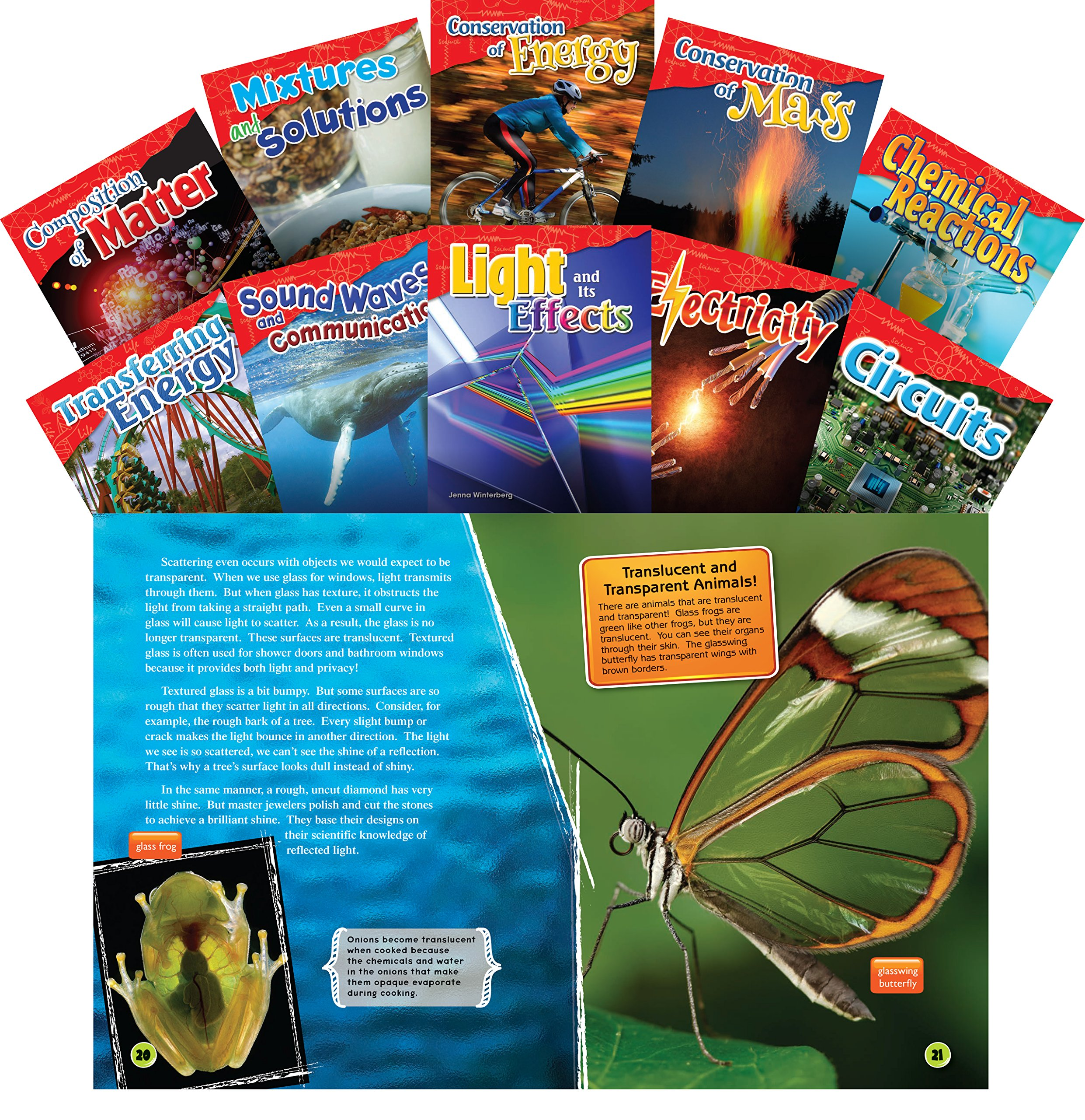 Let's Explore Physical Science Grades 4-5, 10-Book Set (Science Readers: Content and Literacy)