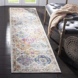 "Safavieh MAD611B-26 Rug, 2'3"" x 6', Cream/Multi"