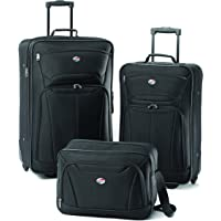 American Tourister Fieldbrook II 3-Piece Luggage Set (Black)