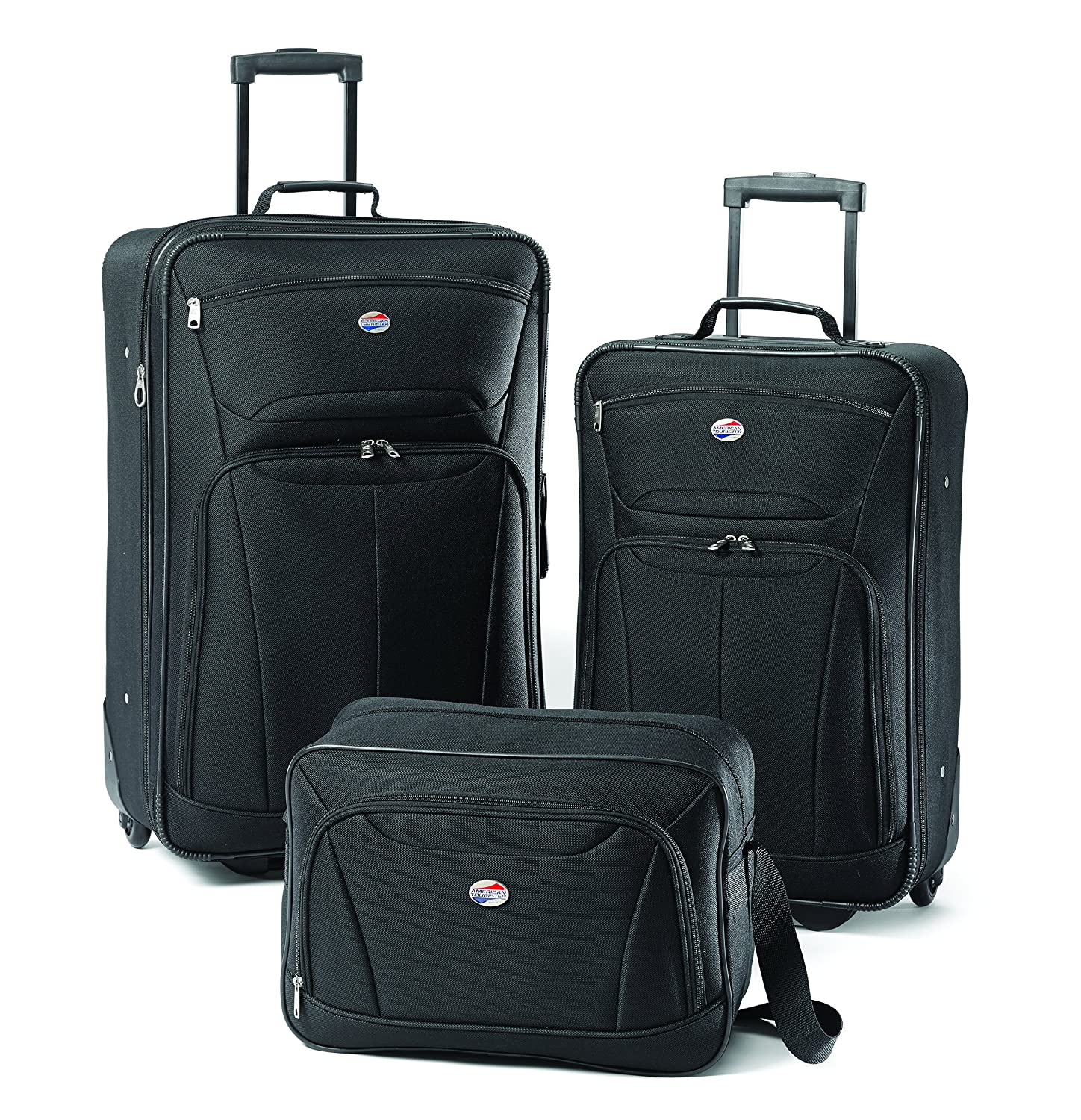 Amazon.com | American Tourister Luggage Fieldbrook II 3 Piece Set ...