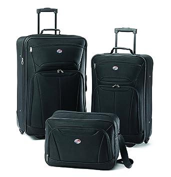 Amazon.com | American Tourister Luggage Fieldbrook II 3 Piece Set ...