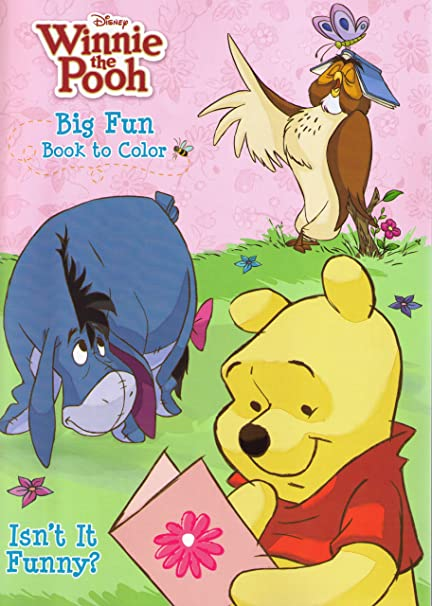 Winnie the Pooh Coloring Book 2 Pack