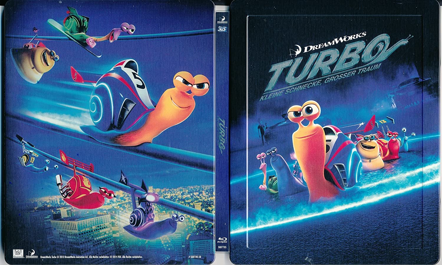 Amazon.com: Turbo 3D Limited Lenticular Steelbook from Germany: Movies & TV