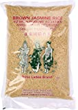 Three Ladies  Brown Jasmine Rice 5 lbs