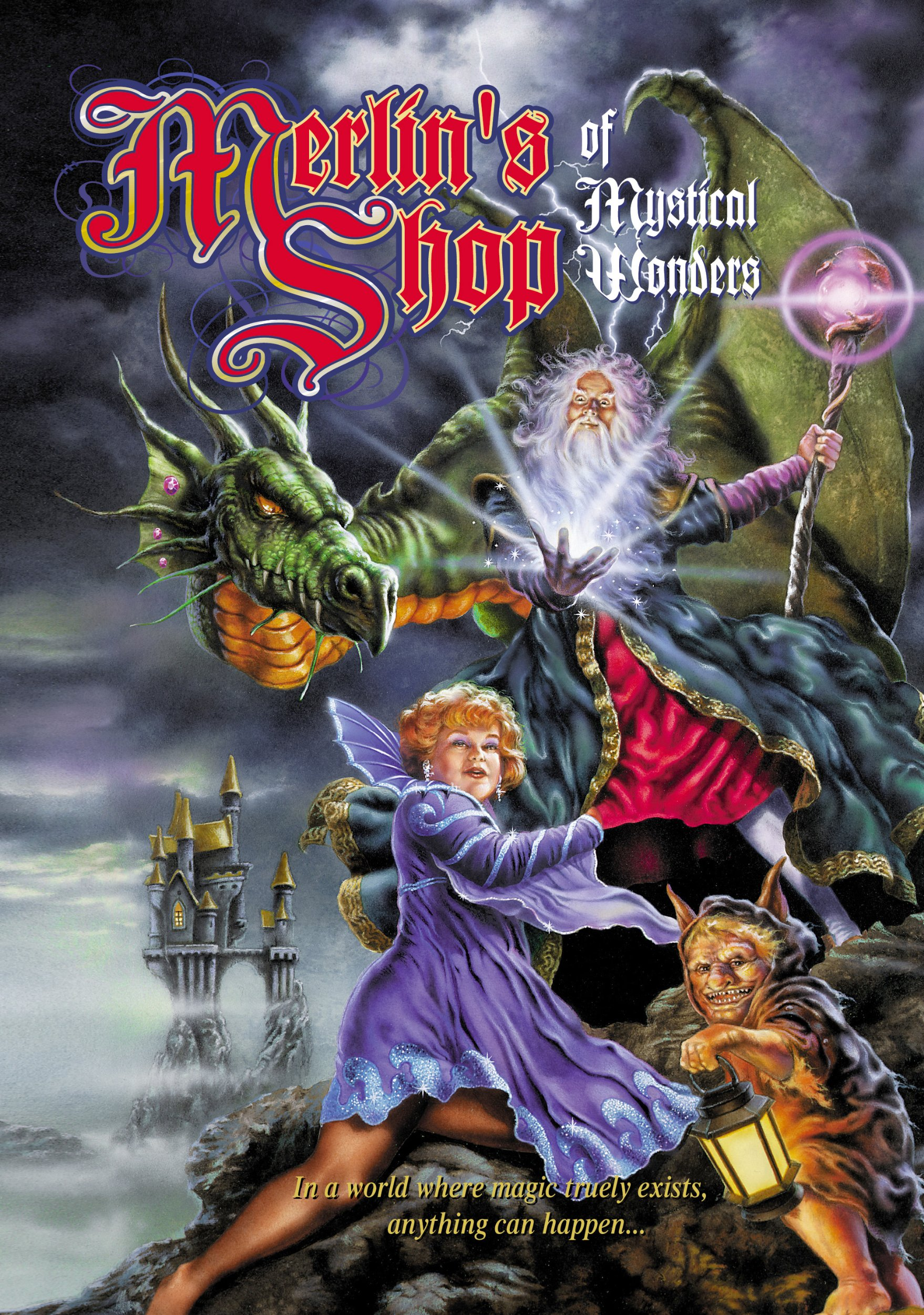 DVD : Merlin's Shop Of Mystical Wonders (DVD)