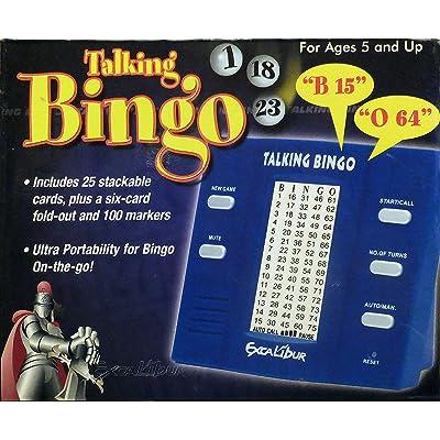Bingo Electronics Talking Speaking Bingo Game: Toys & Games