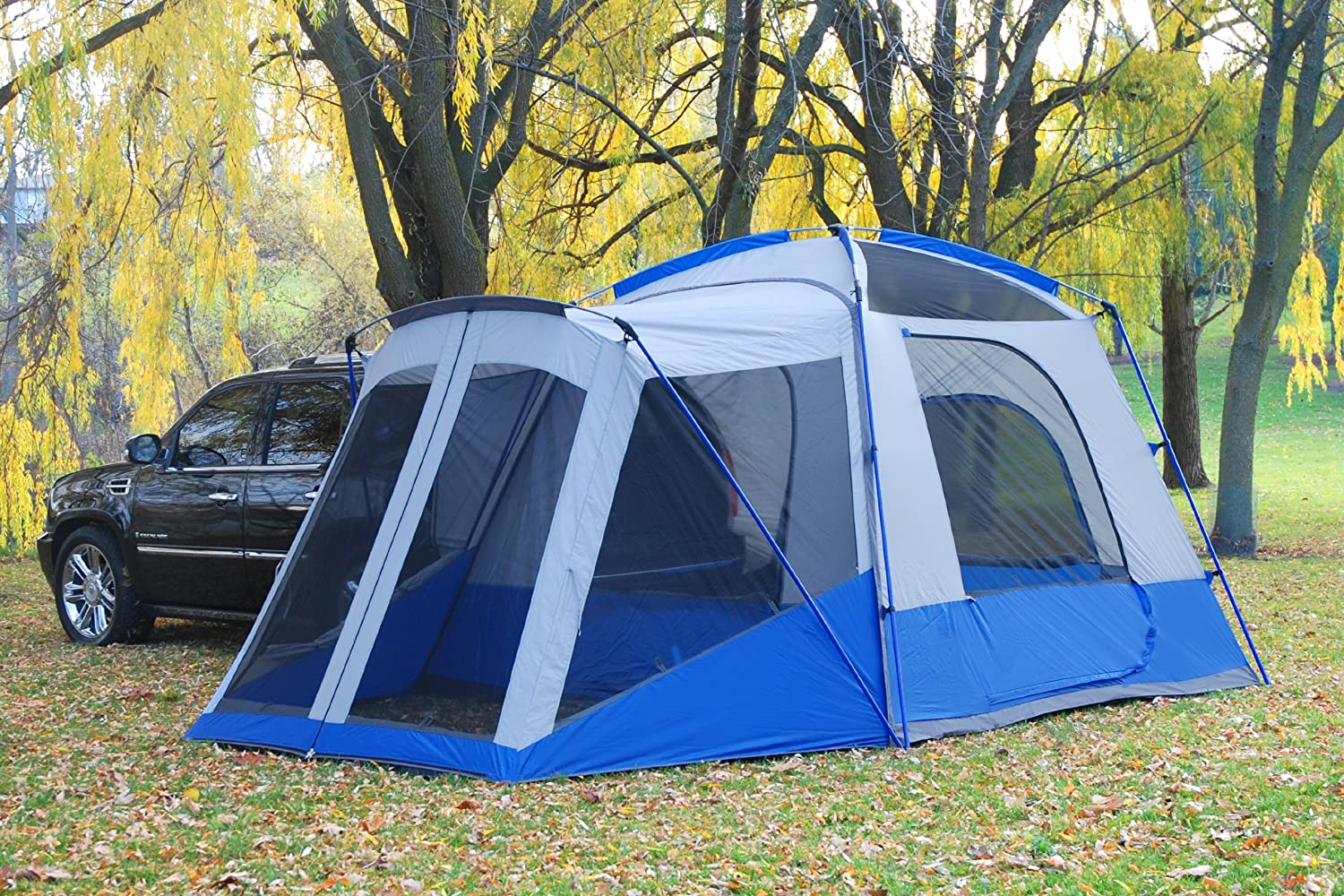 Amazon.com  Sportz SUV Blue/Grey Tent with Screen Room (10 x10 x7.25-Feet)  Family Tents  Sports u0026 Outdoors & Amazon.com : Sportz SUV Blue/Grey Tent with Screen Room (10 x10 x7 ...