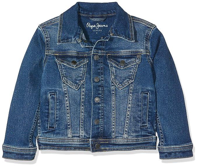 new product 9fcad 2d578 Pepe Jeans Boy's Legendary Jacket: Amazon.co.uk: Clothing