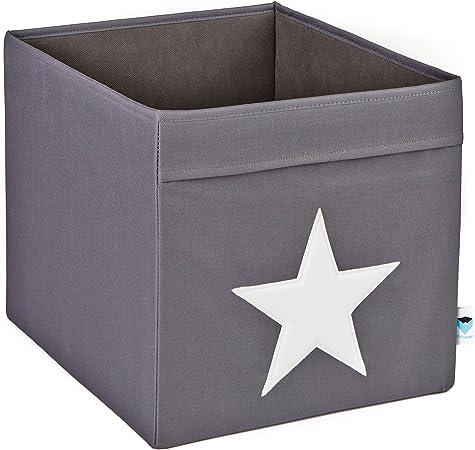 STORE.IT 753689 - Caja de almacenaje, diseño con Estrella, Color ...