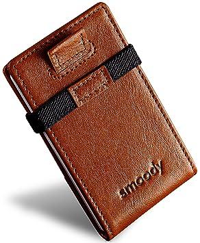 smoody® Tarjetero para 10 Tarjetas de Credito Bloqueo RFID Cartera ...