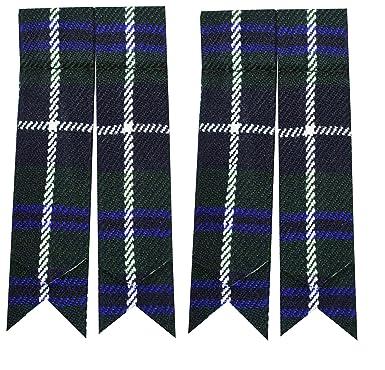 Calcetines de falda escocesa con distintos tartanes, medias de las Highlands: Amazon.es: Ropa y accesorios