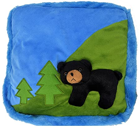 Review Snuggabear 3D weighted lap