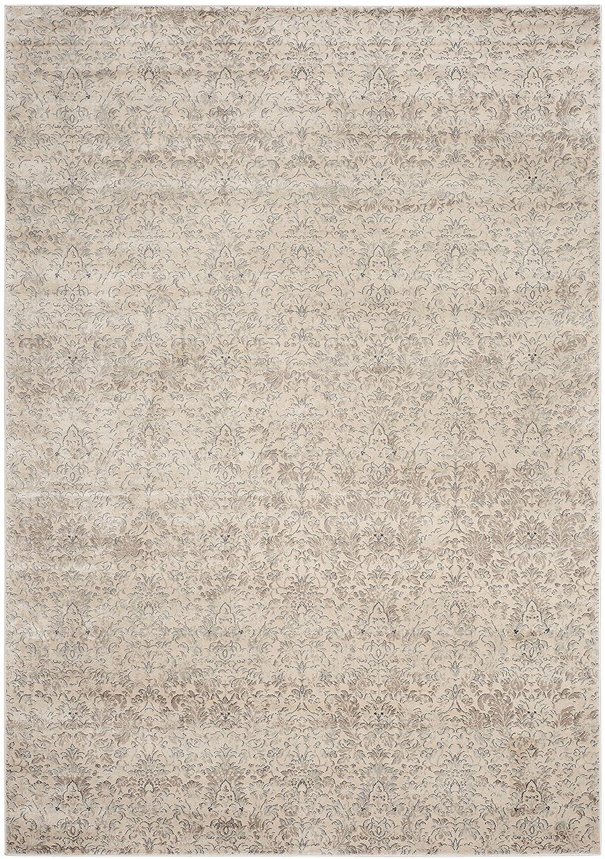 Safavieh Valence gewebter Teppich, VTG434F, Elfenbein   Grau, 121 X 170  cm