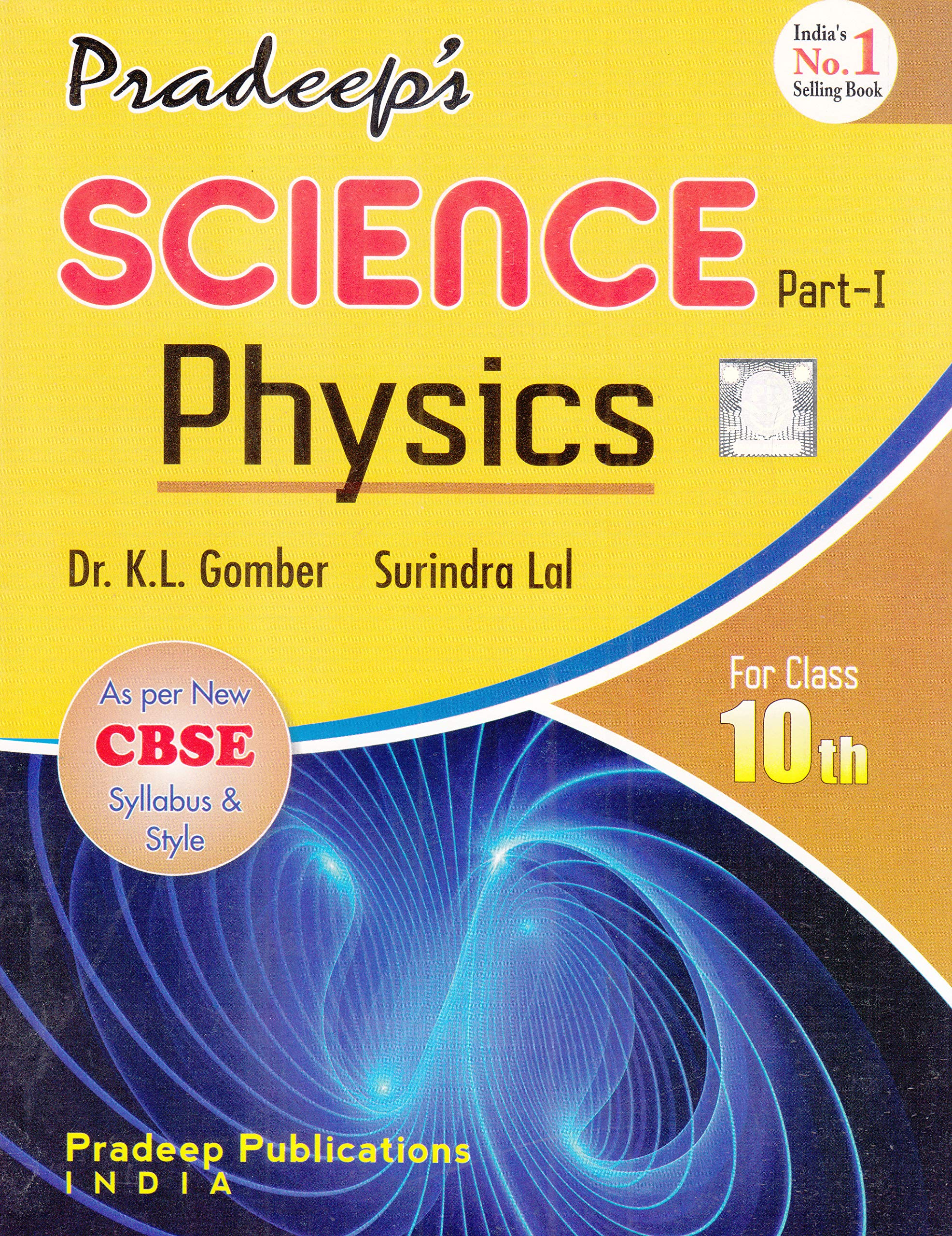 Pardeep's Science Physics Part-1 for Class 10th 2019-2020