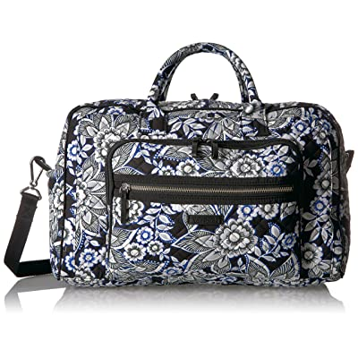 Vera Bradley Iconic Compact Weekender Travel Bag, Signature Cotton 30%OFF 46d4e77f0a