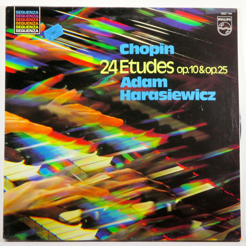 Chopin: 24 Etudes Op. 10 & Op. 25 / Adam Harasiewicz