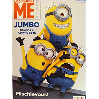 Minions Coloring Book Despicable Me Fun Activity for Children (96 Pages): Toys & Games