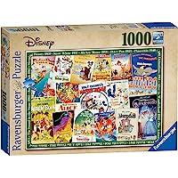 Ravensburger Rompecabezas de 1000 Piezas: Poster Películas Vintage Disney Puzzle