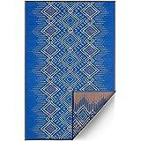 Fab Habitat Reversible Rugs - Indoor or Outdoor Use - Stain Resistant, Easy to Clean Weather Resistant Floor Mats - Jodhpur -