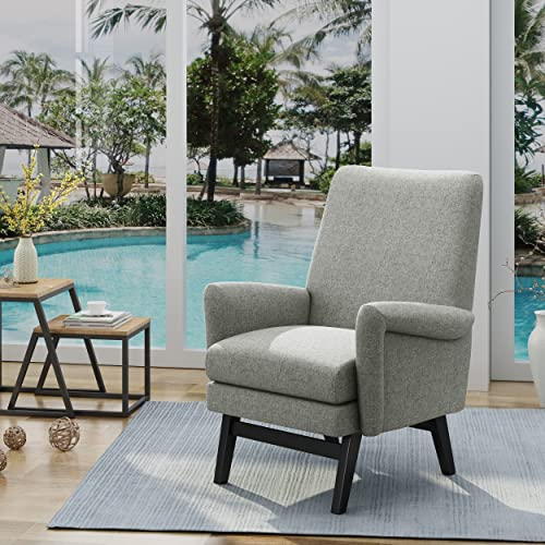 Christopher Knight Home Lester Contemporary Fabric Arm Chair