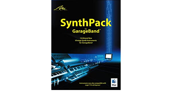 amg synthpack for garageband