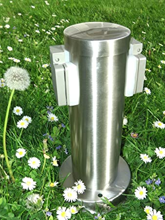 Hochwertige Steckdosensäule Aus Edelstahl Power Socket Steckdosen