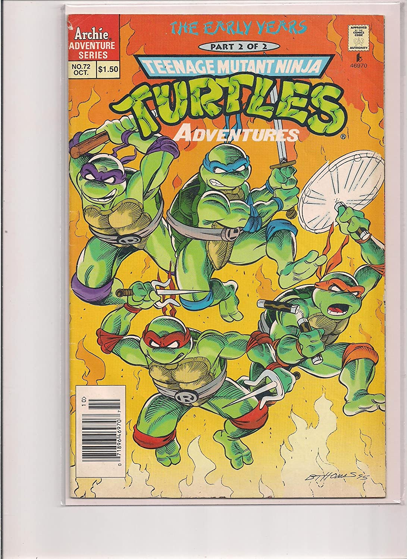 Amazon.com: Teenage Mutant Ninja Turtles Adventures #72 ...
