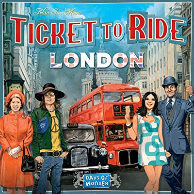 Ticket to Ride: London: Toys & Games