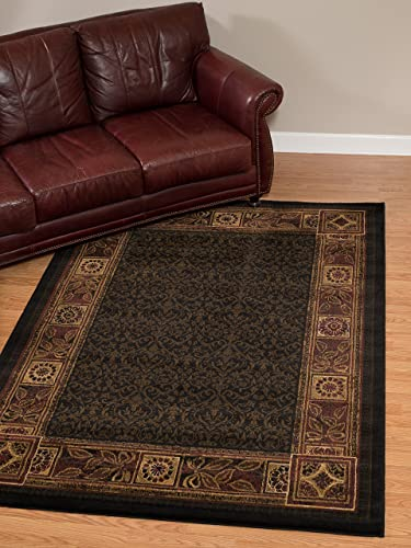 United Weavers of America Cypress Area Rug, 5 3 x 7 2 , Tobacco