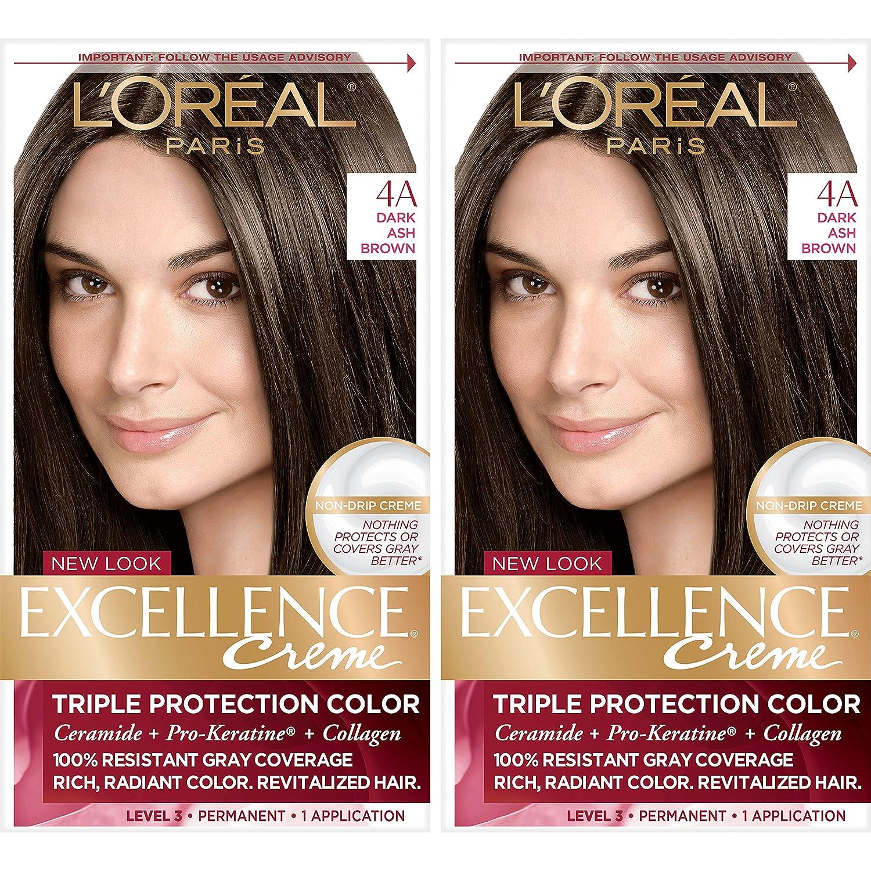 Amazon Loreal Paris Excellence Creme Permanent Hair Color 4a